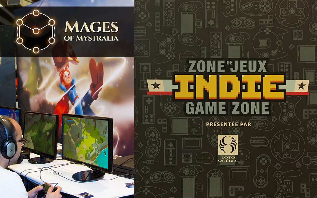 Mages of Mystralia at Montreal Comiccon