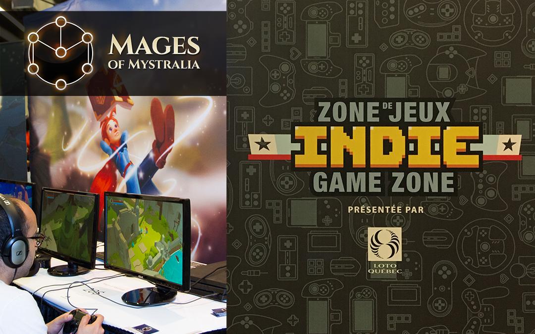 Les Mages of Mystralia au Comiccon de Montréal